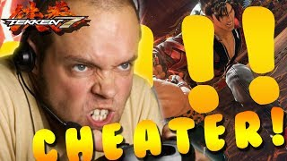 THE SALTIEST LOSER EVER!! TEKKEN 7: FULL TOURNAMENT (UNDERDOG WIN!) REPORTED LOL