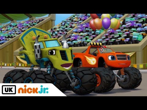 Blaze and the Monster Machines | Dinocoaster | Nick Jr. UK
