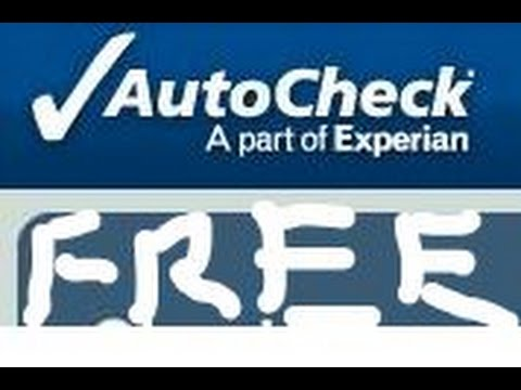 Free Autocheck Report Youtube