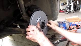Škoda octavia I - výměna brzdových kotoučů a brzdových destiček