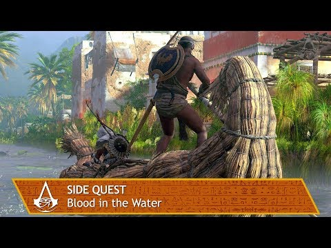 Assassin's Creed Origins - Side Quest - Blood in the Water