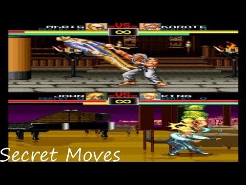 Art Of Fighting - Secret Moves!