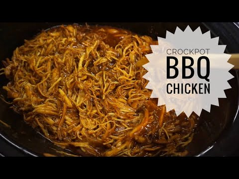 CROCKPOT BBQ CHICKEN| CROCKPOT CHRONICLES | MALINDA ROCHA