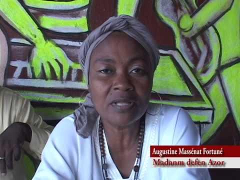 Augustine Massénat Fortuné, veuve de Lenord Fortuné alias Azor, annonce des activités