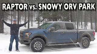 Snowy Off-Road: 2019 Ford F-150 Raptor on Everyman Driver