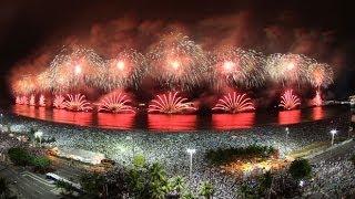 Reveillon Año Nuevo en Rio de Janeiro Playa de Copacabana 2013