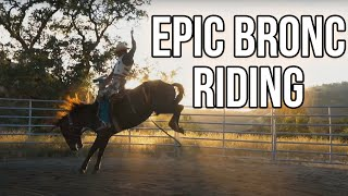 Epic Bronc Riding Practice - 8-7-19 | Veater Ranch
