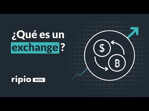 ¿Qué es un exchange?