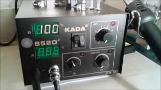 Нанообзор паяльной станции KADA 852D+