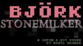 """Björk """"STONEMILKER"""" Nintendo Hyper 8-Bit by Daryl Banner"""