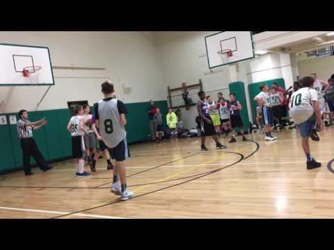 Whatcom Middle School v. Shuksan 7th Grade Basketball 2016