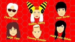 Blondie - Too Much (Animated Cartoon)