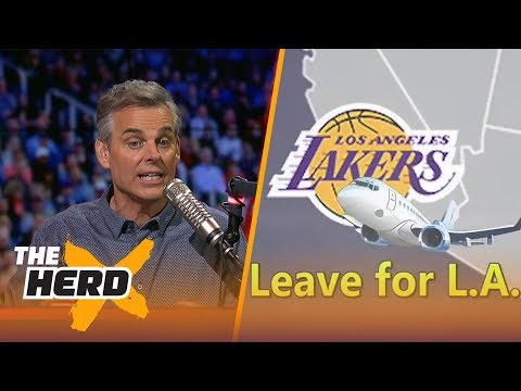 Colin releases new LeBron music video, calls out Barkley for Cavs vs. Warriors comment | THE HERD