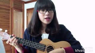 Hao xiang ni (I miss you) - Joyce Chu - Ukulele Cover by Miu