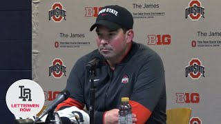 Ryan Day, top-ranked Ohio State celebrate another Michigan beatdown