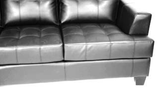Samuel Black Living Room Collection from Coaster Furniture