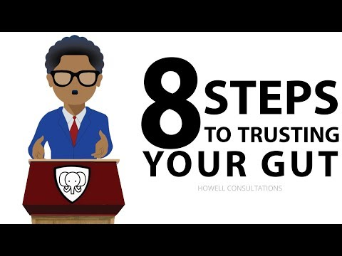 How To Trust Your Gut (TO NEVER IGNORE YOUR INSTINCTS OR INTUITION !!)