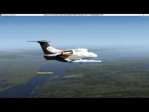 002 - Inuvik to Fort Good Hope (Canada - Northwest Territories)