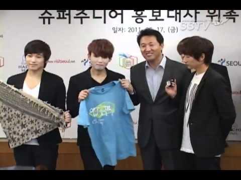 SSTV 110617 Super Junior @ SEOUL Summer Sale 2011 Press Conference