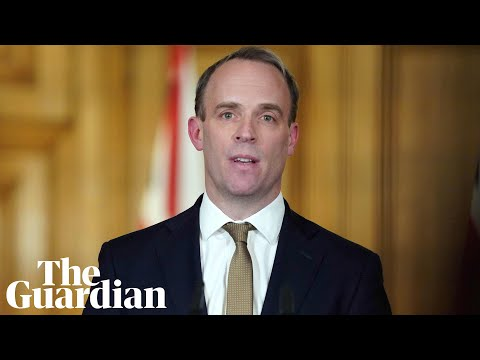 Coronavirus: Dominic Raab Expected To Deliver UK Government Daily Briefing - Watch Live