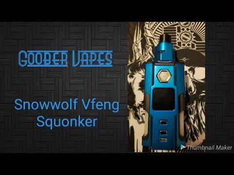 Snowwolf Vfeng Squonk 120W TC Kit
