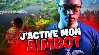 J'ACTIVE MON AIMBOT SUR FORTNITE ! 😈 21 KILLS SOLO - KINSTAAR GAMEPLAY
