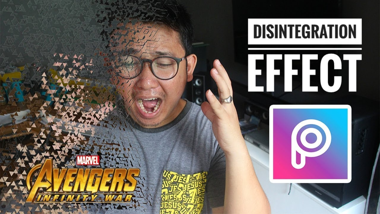 How To Edit Avengers Disintegration Effect Meme Using Picsart - YouTube