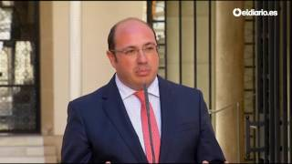 Cuando el presidente de Murcia negaba toda vinculación con la Púbica