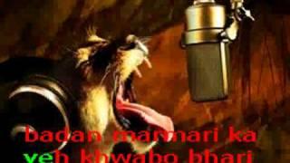 Falak Dekhoon Karaoke With Lyrics
