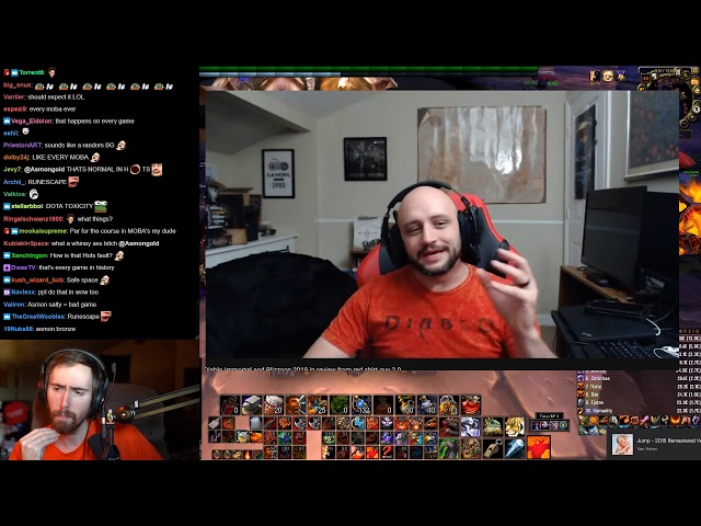 Asmongold Reacts to Some of Red Shirt Guy 2.0s Thoughts on Diablo Immortal and Blizzcon 2018