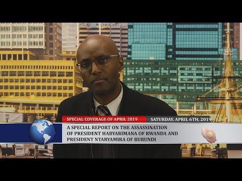 The Assassination of President Habyarimana and Ntaryamira - 25 Years Later No Investigation
