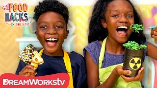 Toxic Mac & Cheese + More Babysitting Hacks! | FOOD HACKS FOR KIDS