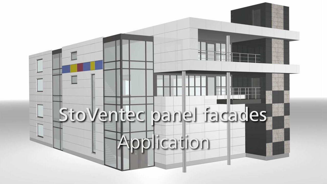 Curtain wall panel - Stoventec Curtain Walls E G Glass Panels How To Install A Rainscreen Cladding System