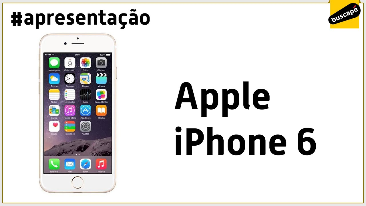 09f352d96 Apple iPhone 6 64GB - Apresentação - YouTube