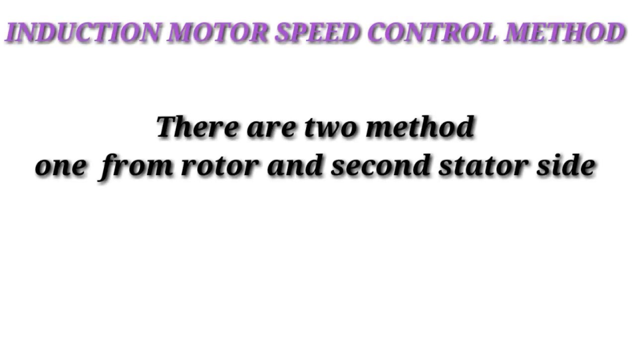 How vfd work variable frequency control of induction for Variable frequency control of induction motor