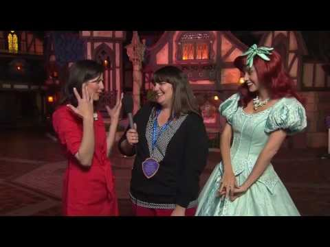 Fantasy Faire at Disneyland--An interview with Princess Ariel