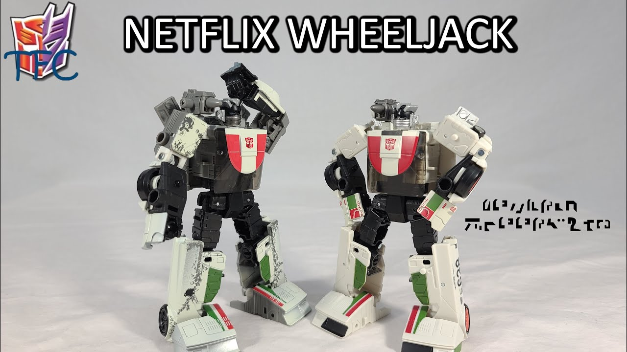 TF Collector Netflix WFC Wheeljack Review!