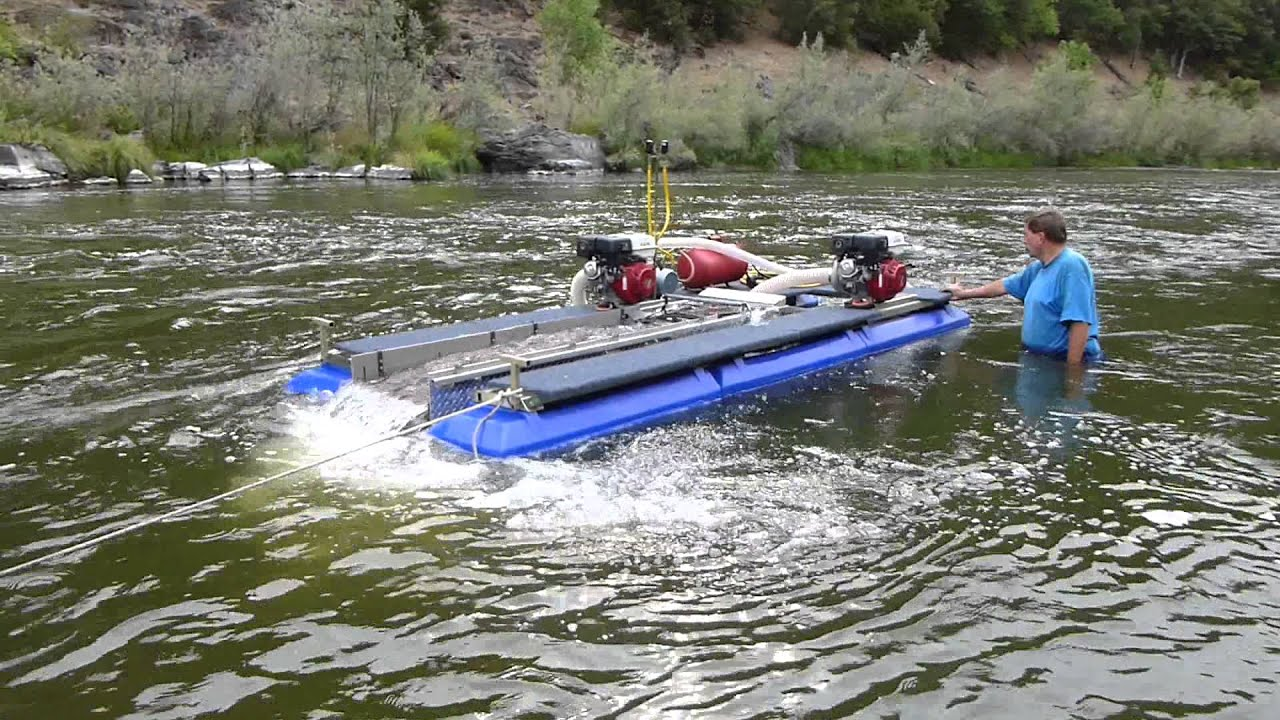 Gold Dredge for Sale - Best 6-inch Gold Dredge Ever Built!