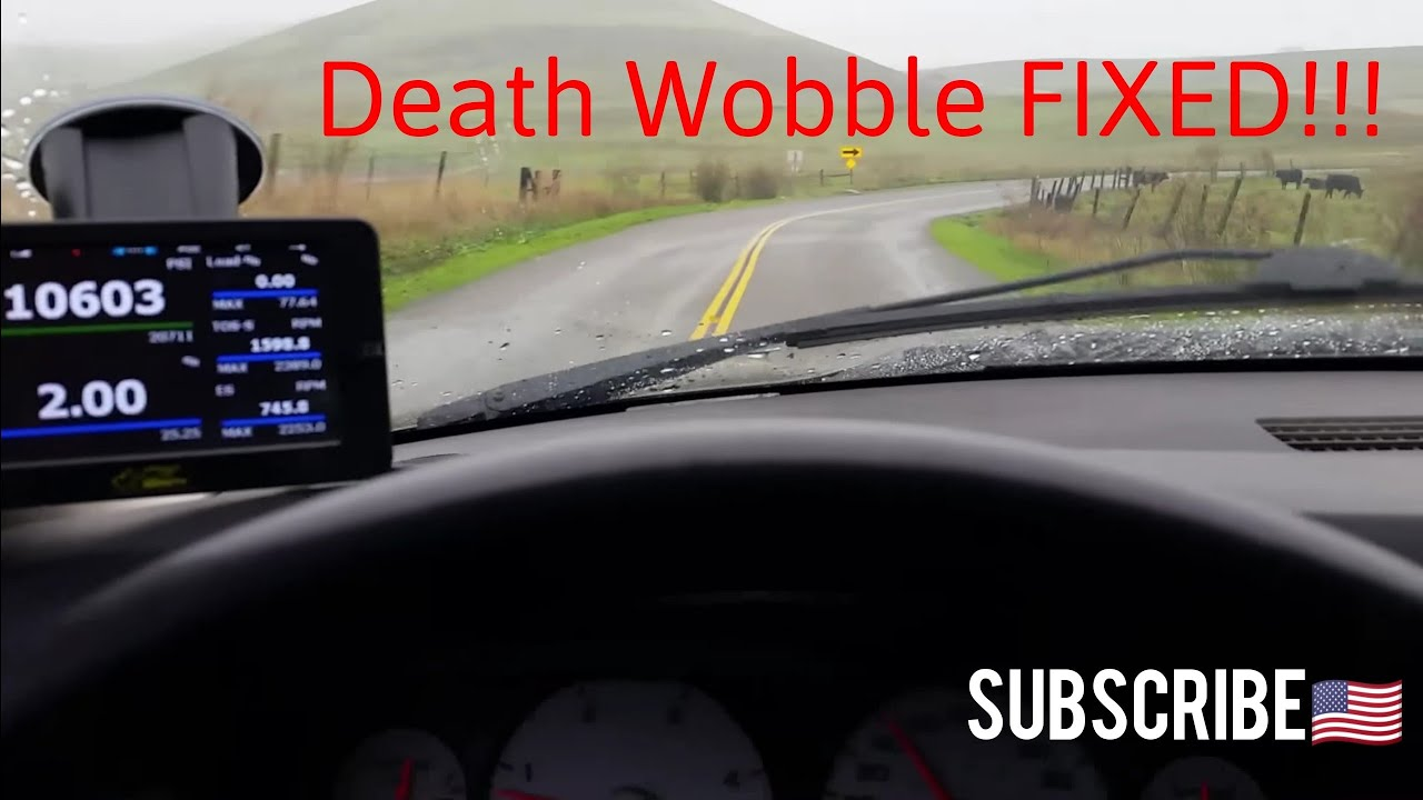How I Solved Death Wobble On My Dodge Ram 2500 Youtube