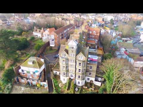 Folkestone by Drone