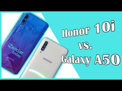 Сравниваем Honor 10i и Samsung Galaxy A50: В одни ворота?
