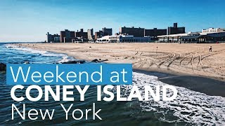 Weekend in New York at Coney Island and Times Square
