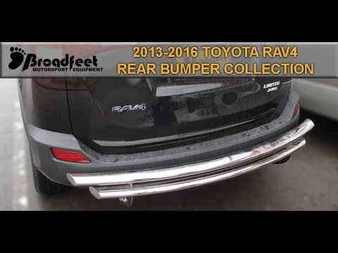 BROADFEET 2013-2016 TOYOTA RAV4 REAR BUMPER GUARD COLLECTION