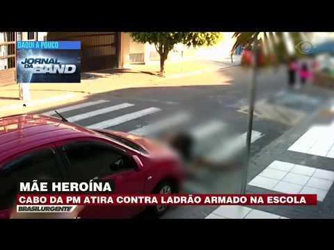 Mãe Heroína: Policial A Paisana Atira Contra Assaltante