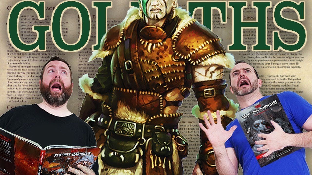 Download Goliaths | 5e Dungeons & Dragons | Web DM
