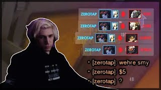 xQc VS Aimbot Hacker And He's Crying For $5