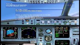 FS2004 A330-200 Swiss Flight from New York to Zurich