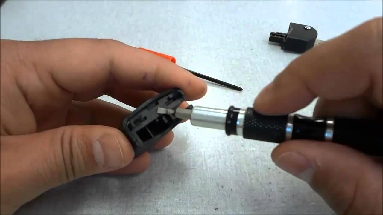 How To Change A Mazda Rx 8 Key Fob Battery Flip Key 2005 2008