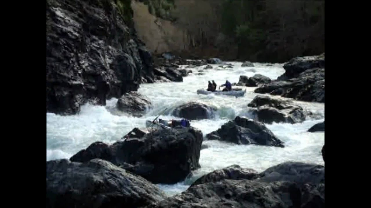 Illinois river oregon rafting 01 29 2011 youtube for Oregon out of state fishing license