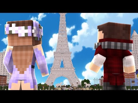 👉 BEBE Y SU NOVIA VACACIONES EN PARIS | WHO'S YOUR DADDY EN MINECRAFT